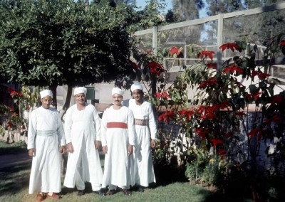 1963 Cooks At Thanksgiving - Ibrahim and Abdu Samia in center
