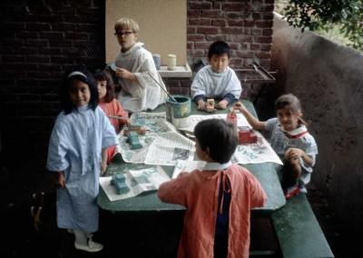 1972 Carolyn Pollock's Class - Painting