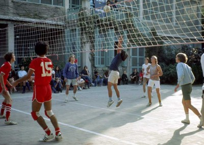 1972 Volleyball - Tom Pollock in Leopard Shirt