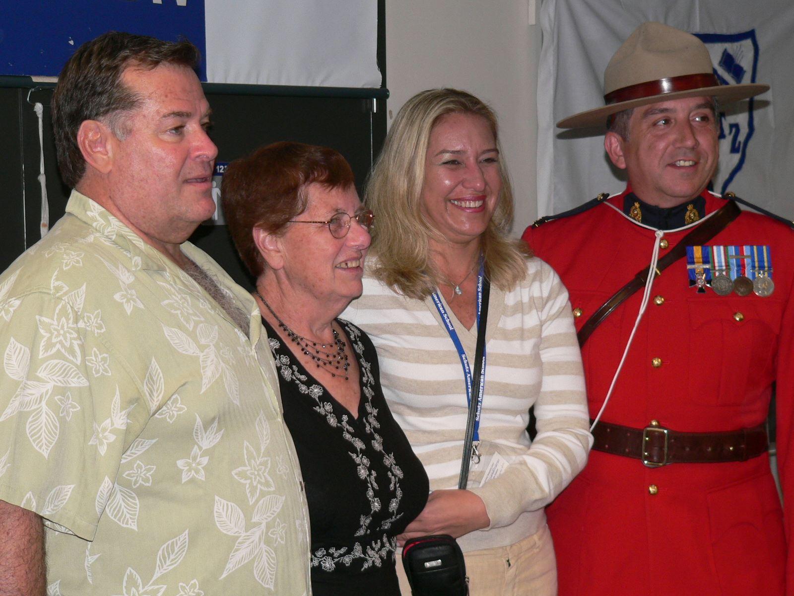 Jean Stulz with Alex and Adriana