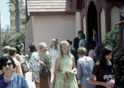 Outside Stanley Bey Church - late 1960's