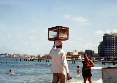 Pastry Vendor on the beach