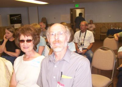 Ann & Chuck Haspels.