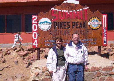 Carolyn & Bill Pollock @ Summit Pike's Peak