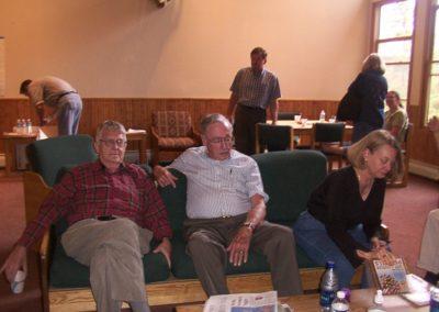 George Meloy, Jack Lorimer, Charlotte Weaver Gelzer.