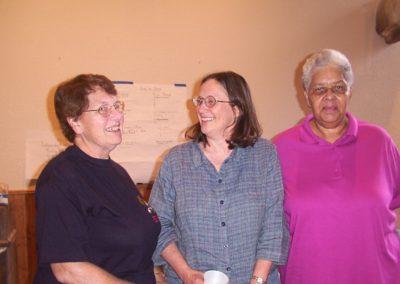 Jean Stultz., Ann Meloy, Jackie Martin Underwood.