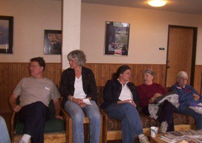 John, Sarah, Jane, MaryLou Meloy, and Joan Murdoch