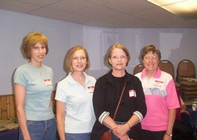 Joyce, Marsha & Beth Gordon, Margie Phillips Cheesebro.