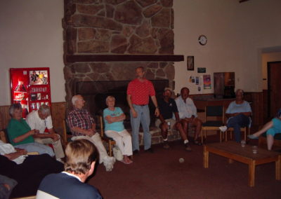 Meeting in Lodge