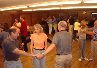 Square Dancing One in the Middle