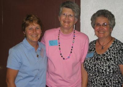 Carolyn Pollock, Sandy Jamison, Sharon Hoffmeier Garber