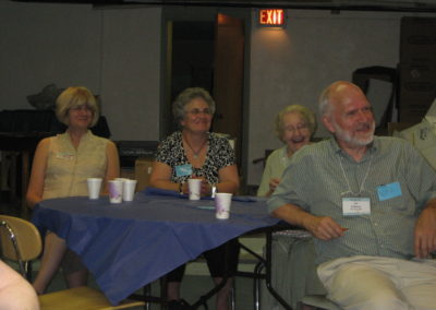 Sue Reed, Sharon Hoffmeier Garber, Alma Wilson, Ed Pollock